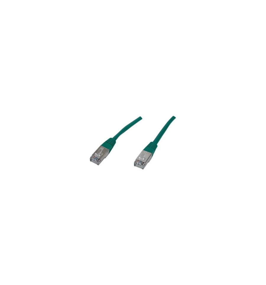 C ble rj45 cat gorie 6 blind 0 50 m tre vert 852532 - Categorie cable rj45 ...