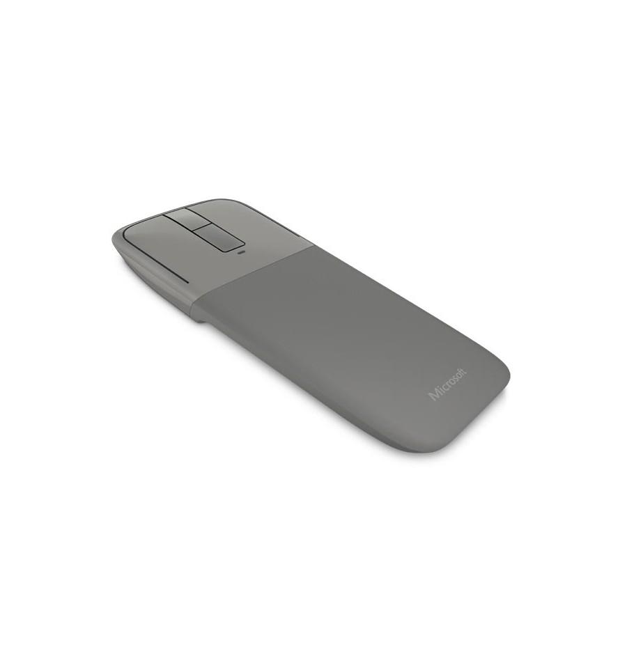 souris sans fil bluetooth microsoft arc touch bluetooth mouse gris blue track pliable tactile. Black Bedroom Furniture Sets. Home Design Ideas