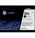 Toner HP 80A Noir CF280A (2700 pages)