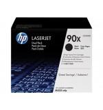 Toner HP 90X Noir Pack de 2 CE390XD (2x24000 pages)