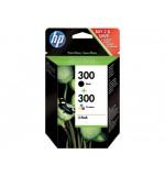 Cartouche HP 300 Pack de 2 (Noir + Couleur)