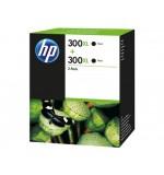 Cartouche HP 300XL Noir Pack de 2