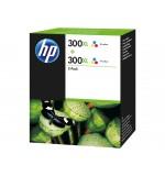 Cartouche HP 300XL Couleur Pack de 2