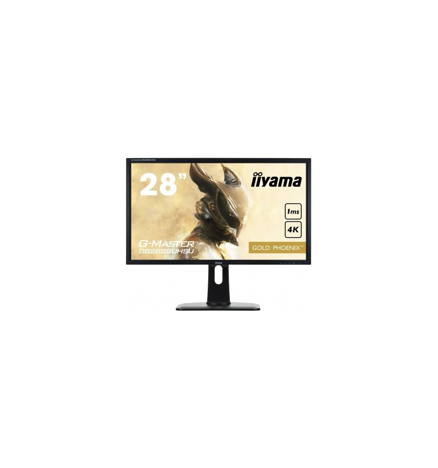 ecran 28 iiyama g master gb2888uhsu b1 gold phoenix noir pied r glable 4k tn 1ms vga 3xhdmi dp. Black Bedroom Furniture Sets. Home Design Ideas