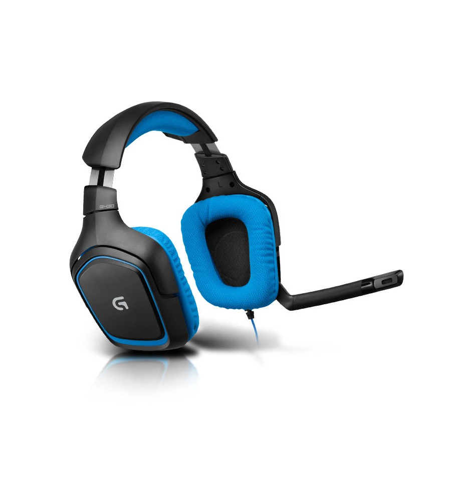 casque micro gamer logitech g430 surround sound gaming headset. Black Bedroom Furniture Sets. Home Design Ideas